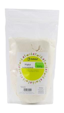Mąka kokosowa 500g bezglutenowa