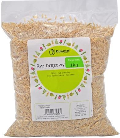 Ryż brązowy naturalny 1kg
